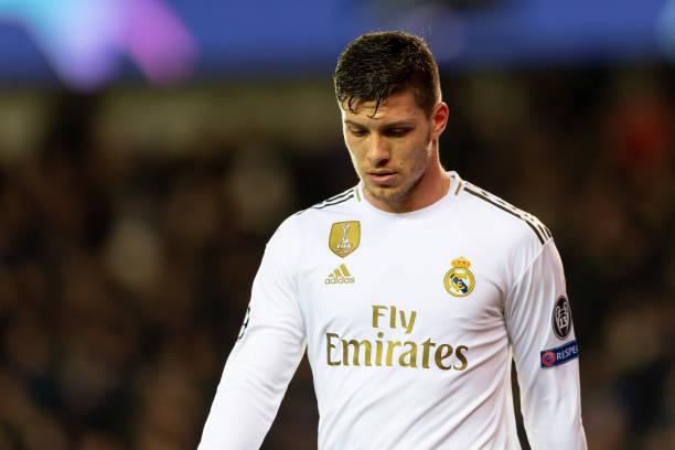 Luka Jovic Real Madrid West Ham