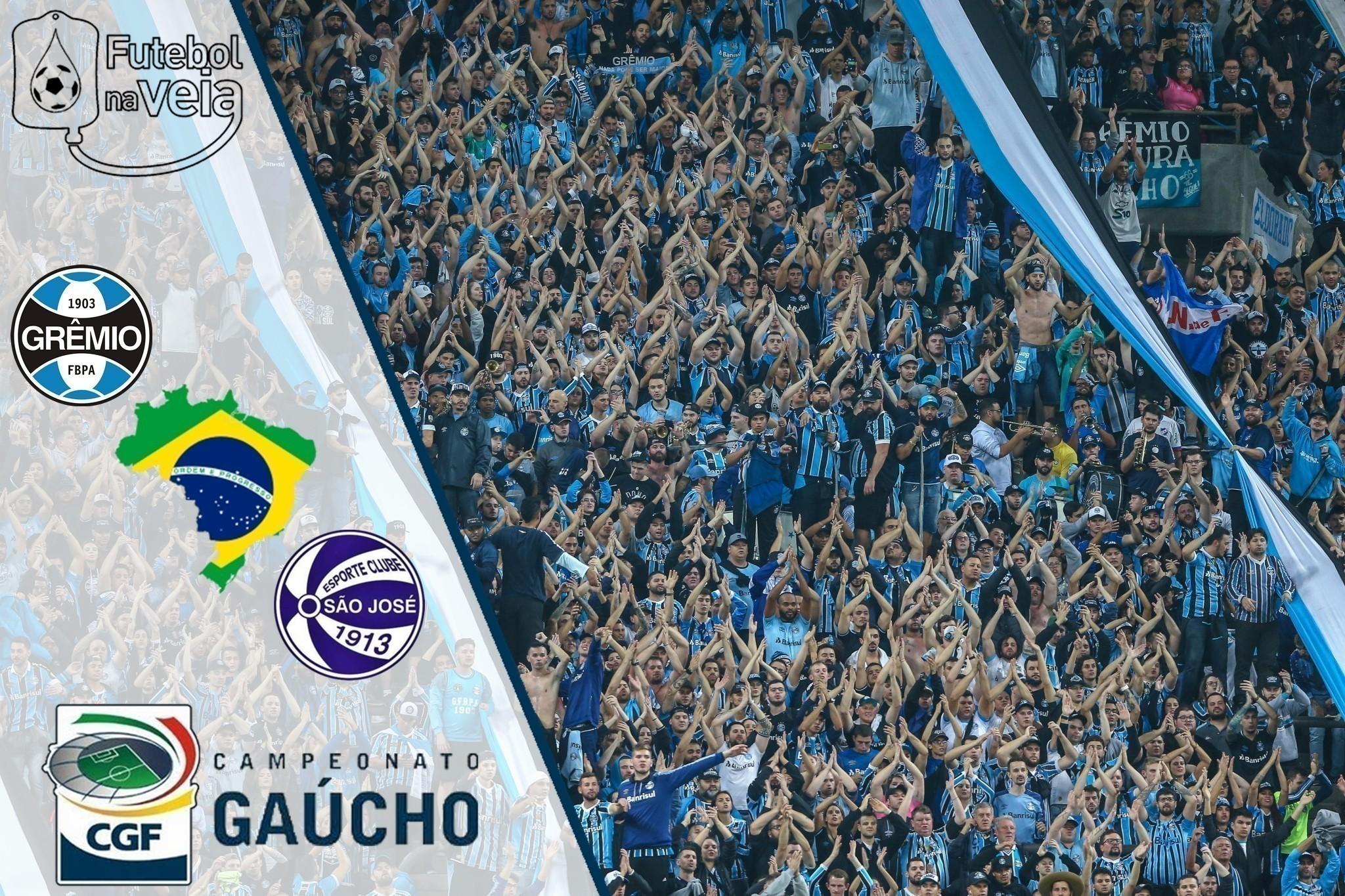 Grêmio x São José - Gaúchão