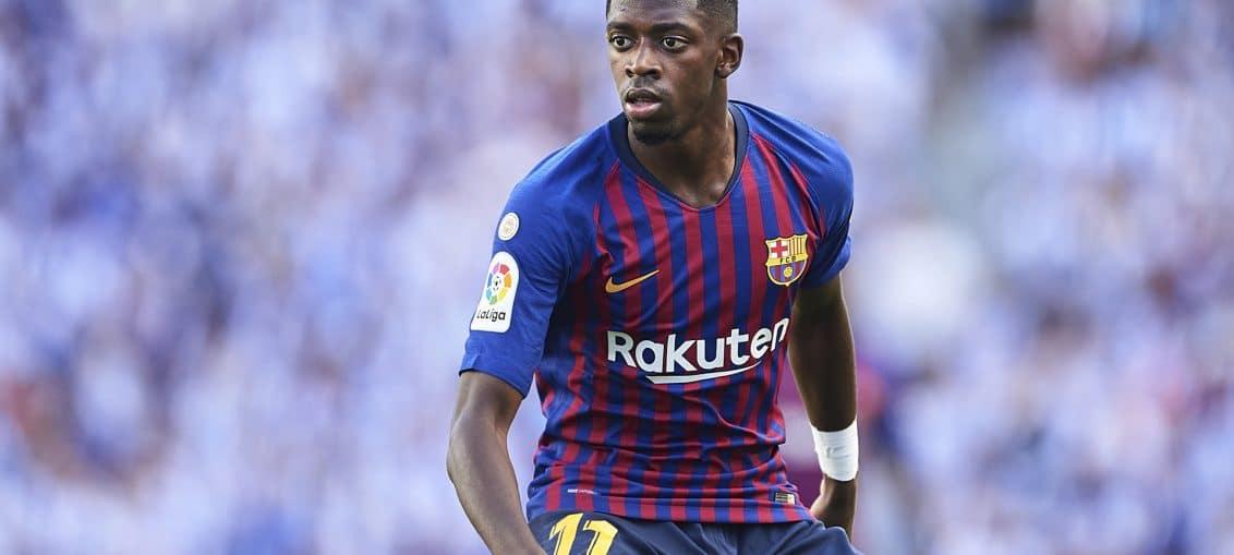 Dembélé na mira de Arsenal e United (Foto: Getty Images)