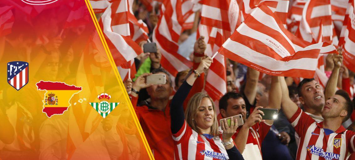 Atlético de Madrid x Betis