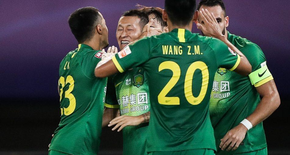Beijing Guoan vence Hebei e é líder do grupo B (Divulgação/Sports Sina)