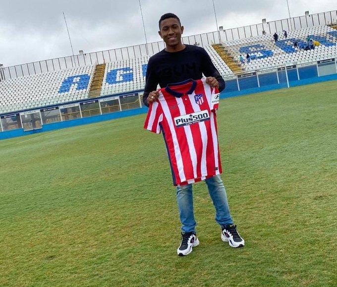 João Roberto, ex-Água Santa fecha com o Atlético de Madrid