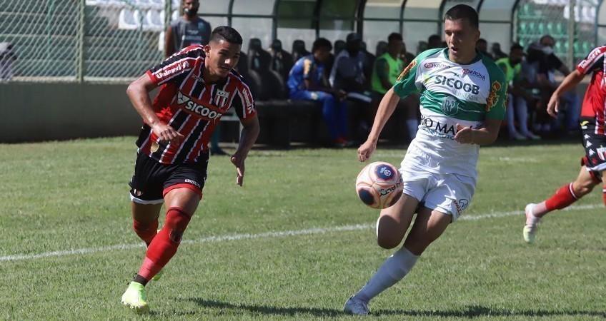 Botafogo-SP empata com o Rio Preto (Foto: Divulgação / Agência Botafogo
