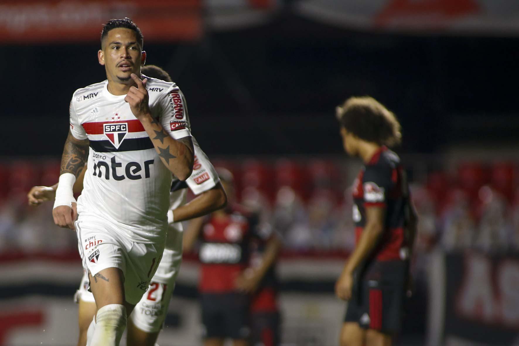 Luciano com a camisa do São Paulo FC (Foto: São Paulo FC)