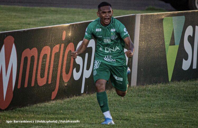 Com gol nos acréscimos, Guarani vence o Paraná fora de casa, pelo Brasileirão Série B 2020 (Foto destaque: Reprodução/Igor Barrankievcz/FotoPressPr)