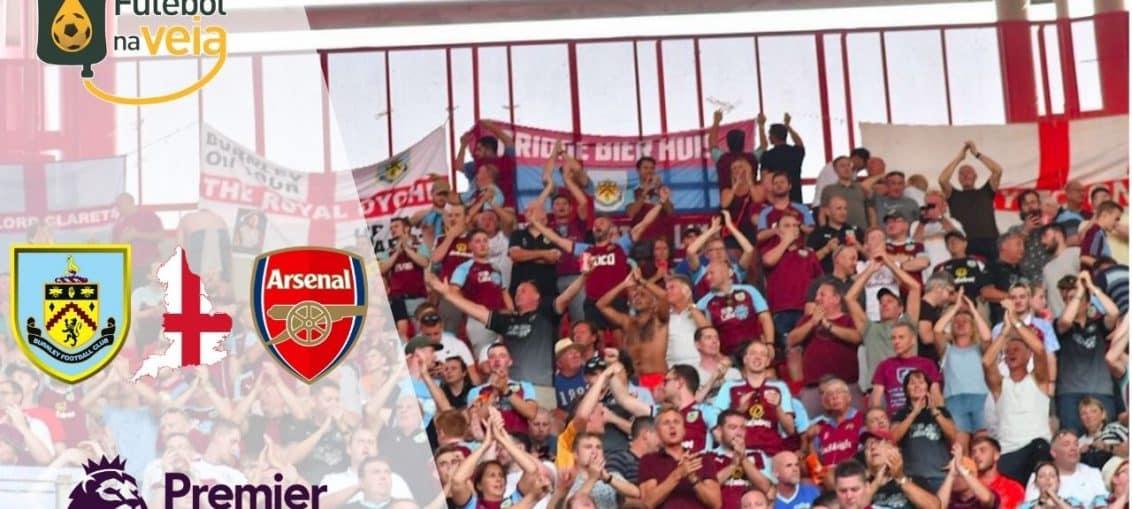 Burnley x Arsenal